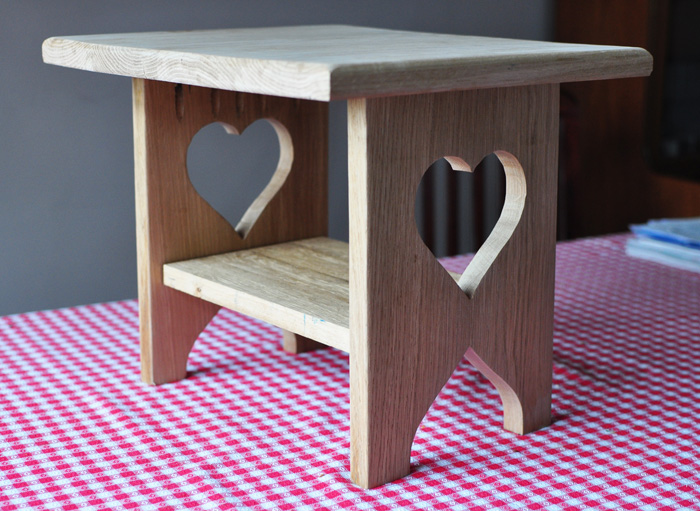 European Oak Small Table