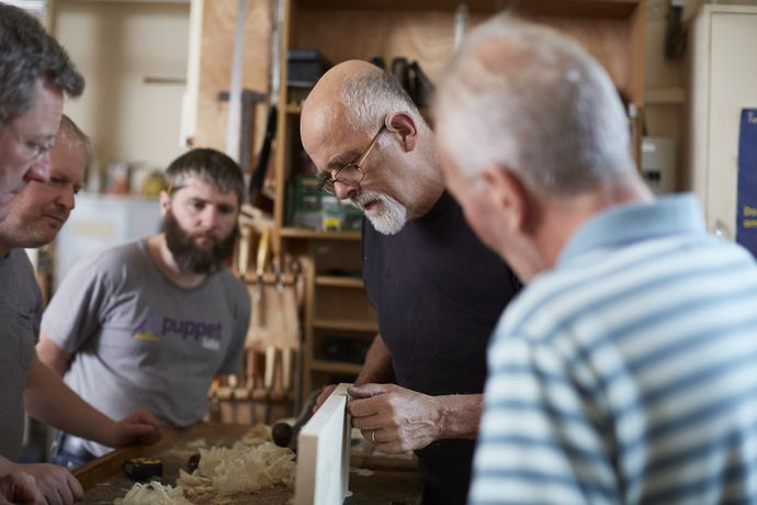 Chris Tribe Woodwork Courses