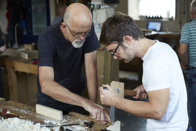 Two day weekend courses at British Hardwoods School of Woodwork
