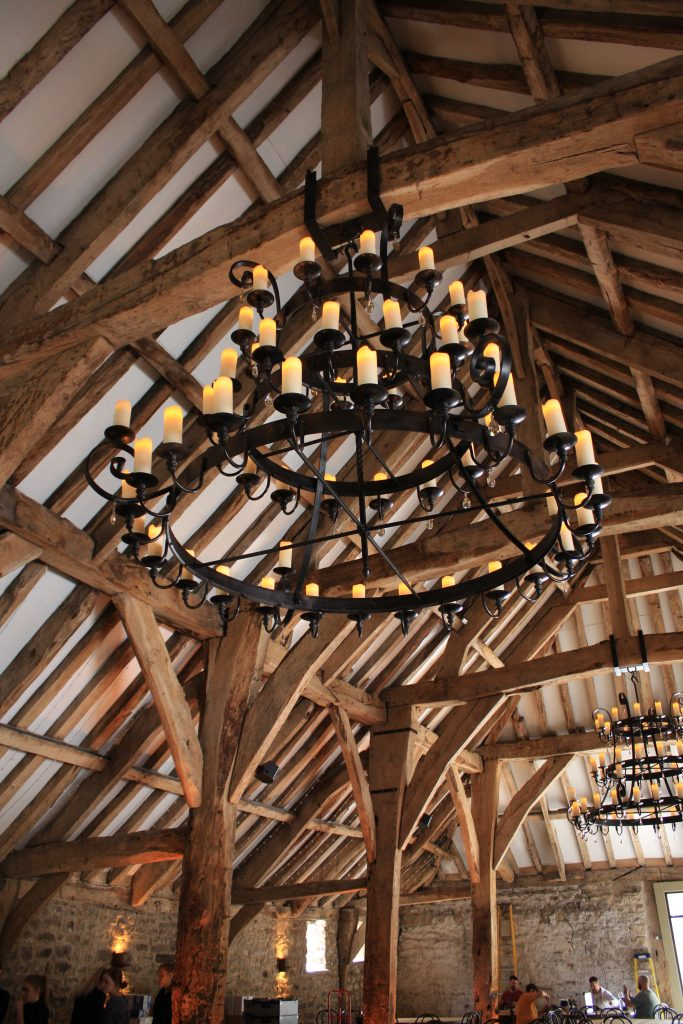 Restoration of traditional oak beams