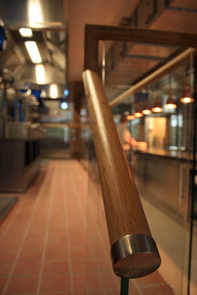 Supply of Solid Oak Mopstick Handrail