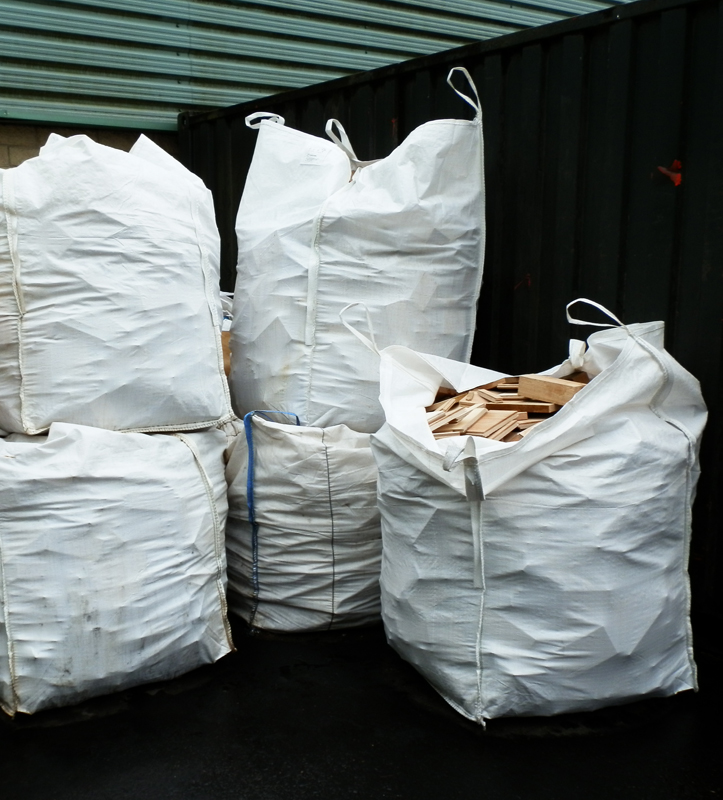 Firewood - bulk bags of hardwood offcuts