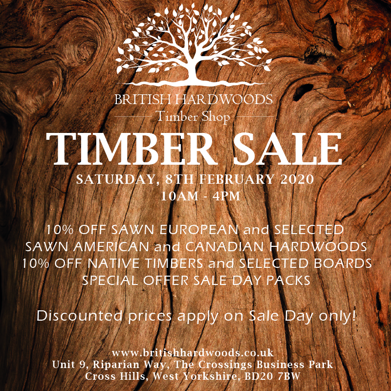 British Hardwoods Timber Sale February 2020